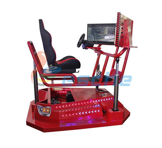 Leesche Brand race gatling seat horse riding simulator for sale luxury