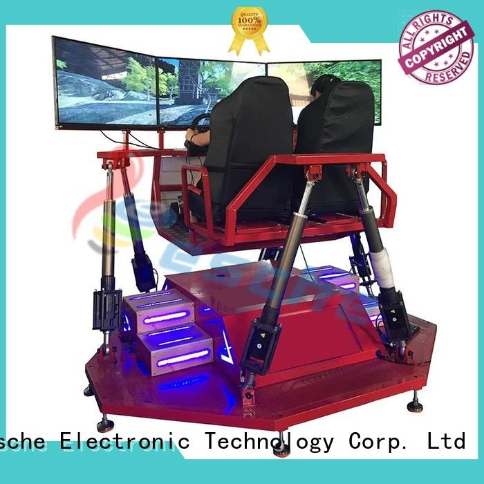 high quality auto racing simulator newest with unique freedom electric motion-based dynamic platform on the street