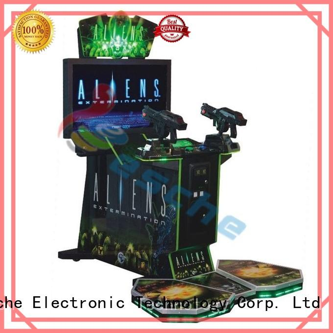 Leesche high quality arcade video game machines in Shopping mall