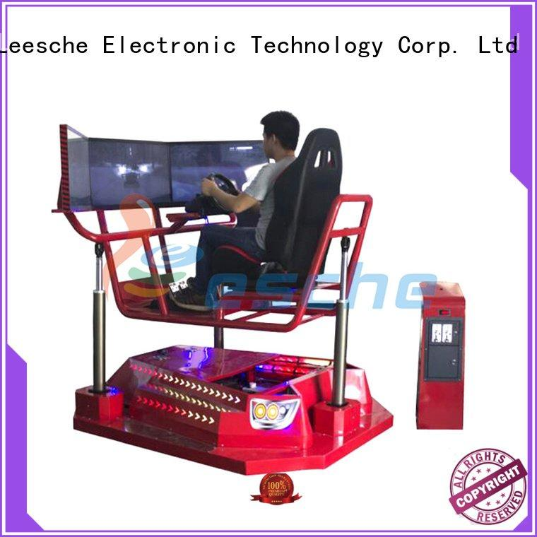 Quality horse riding simulator for sale Leesche Brand 360 horseback riding simulator