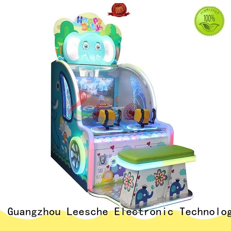 Leesche operated racing arcade machine easy operated in the park