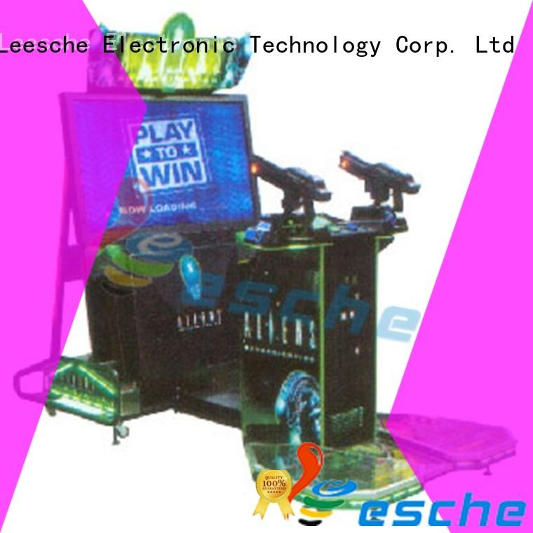 Leesche durable machine arcade easy operated on the street