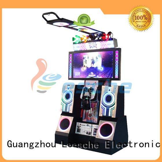 Hot dance dance revolution arcade machine dancing coin arcade Leesche Brand