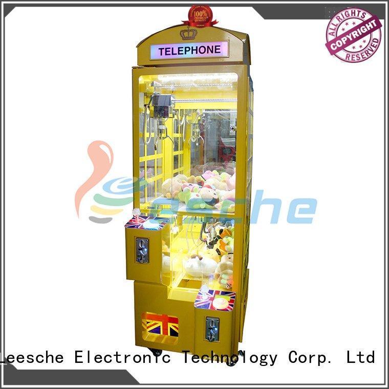 Leesche toy bill acceptor claw arcade game master