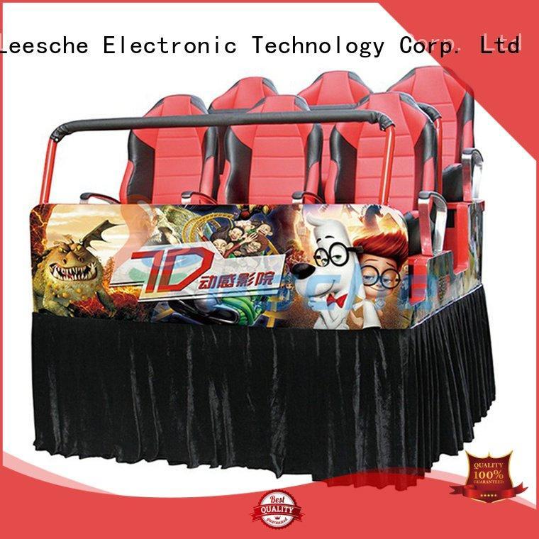 cinema 3d 7d platform truck mobile