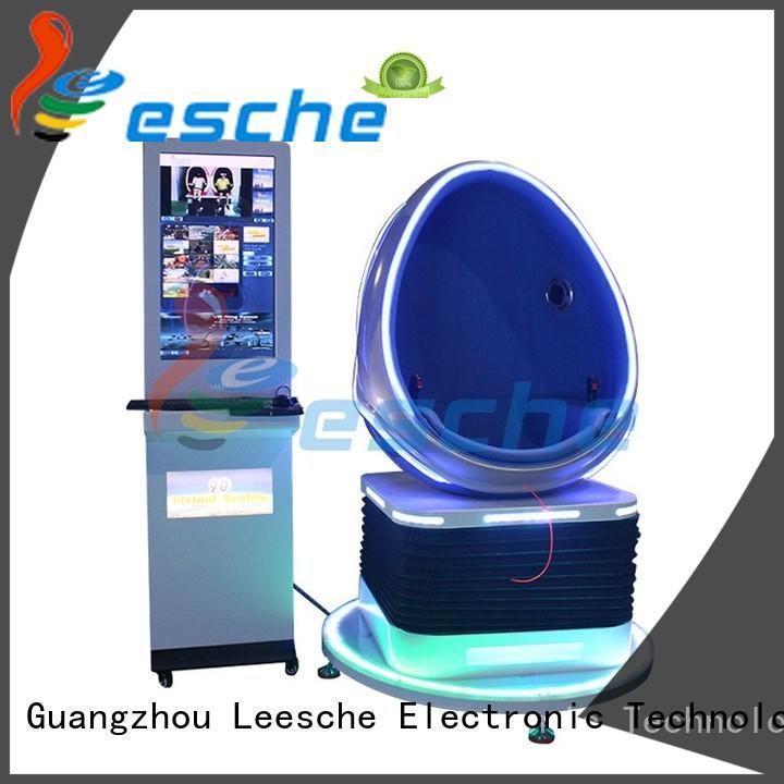 Leesche cinema 9d egg chair inspiring your imagination in Shopping mall