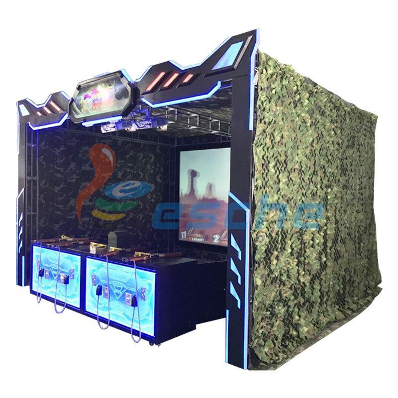 Arcade game machine 3D Hunting hero shooting gun simulator