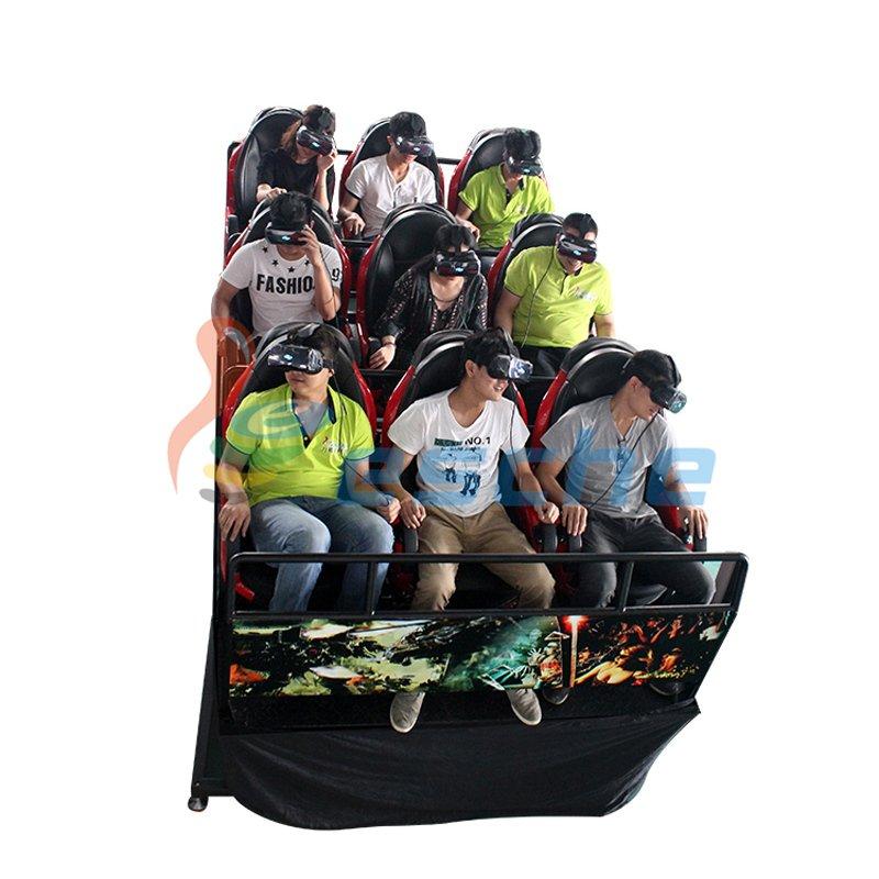Leesche mobile truck motion 9 seats 9d vr 12d cinema simulator VR Cinema image29
