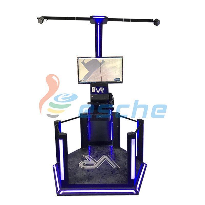 360 degree mini htc vr space 9d vr shooting simulator
