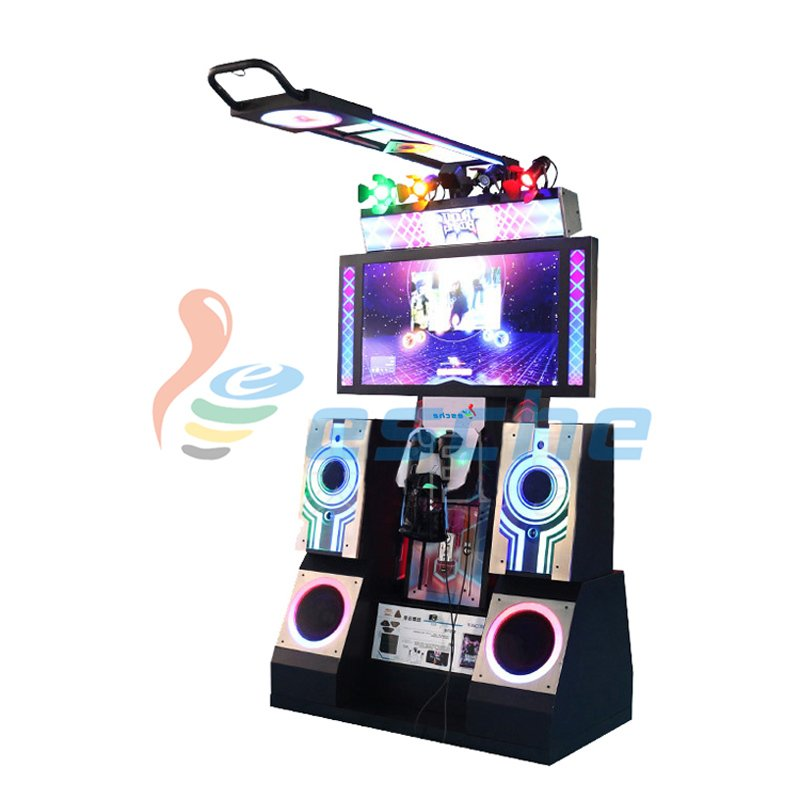 Leesche Newest coin operated 9D VR dance arcade dancing machine VR Dance image27