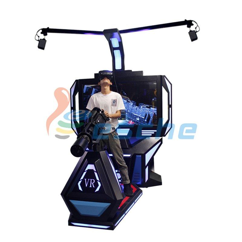 VR Shooting Game Machine HTC VIVE 9D VR Gatling Simulator