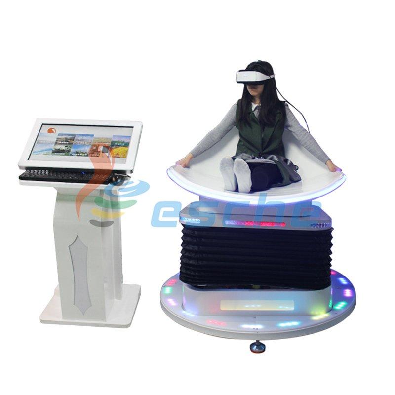 Leesche 360 Degree View 9D VR Games Simulator VR Slide VR Slide image23