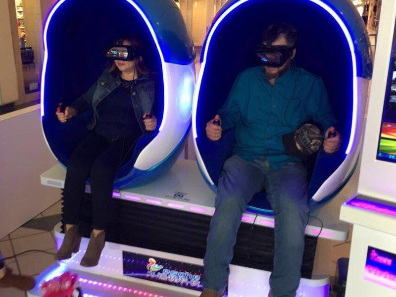 The VR egg zone from US