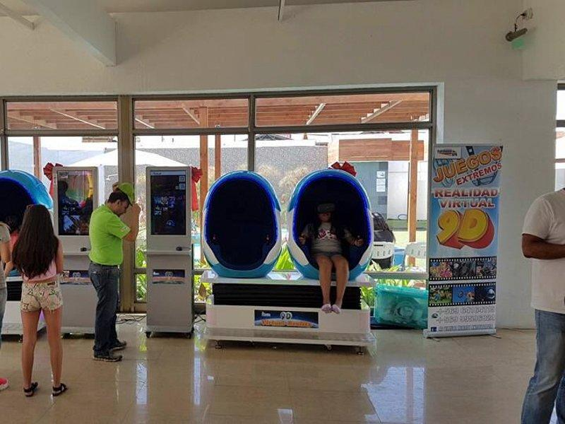 The VR egg zone from South Africa