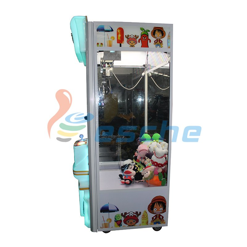 Leesche Attractive plush toys amusement claw crane vending machines for sale Prize Claw Machine image4