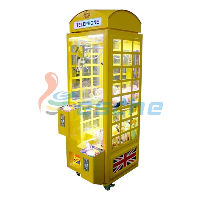 Leesche Newest coin operated arcade toy claw crane game machine Prize Claw Machine image2
