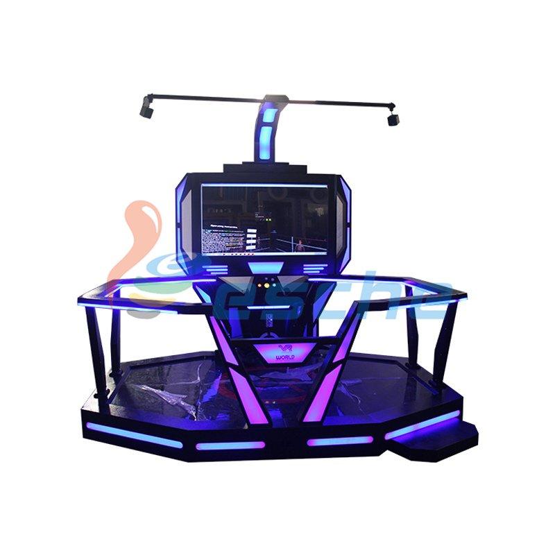 Leesche wholesale Dynamic 360 Degree Interactive vr shooting game htc vive VR Gun/Fighting image19