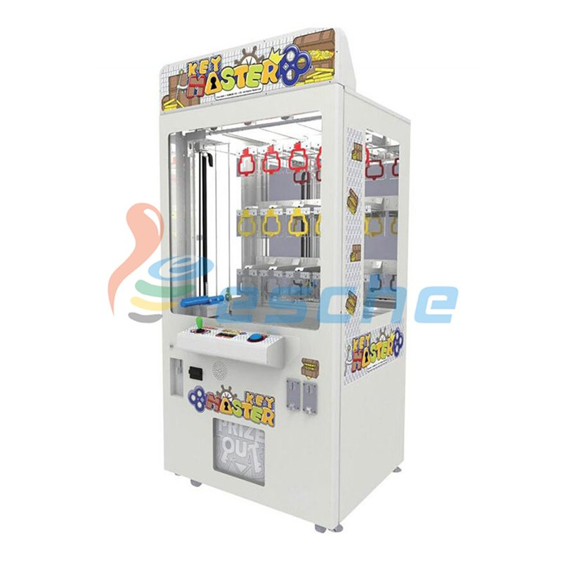 Leesche best price bill acceptor coin operated key master game machine Prize Claw Machine image1