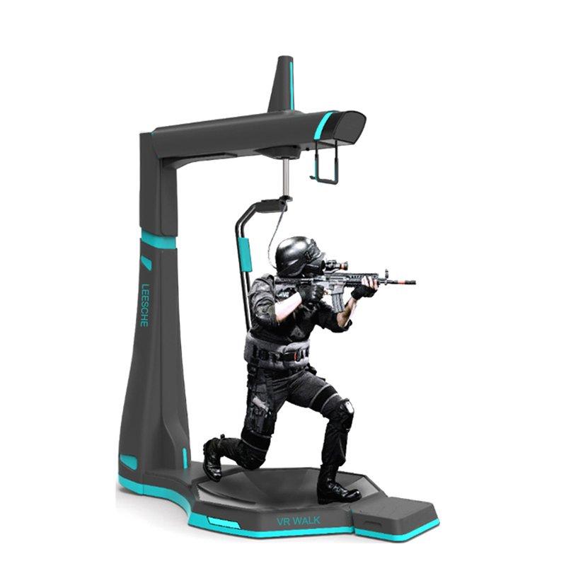 Leesche Exciting 360 standing platform 9d vr shooting equipment vr walker VR Walker/battle image17