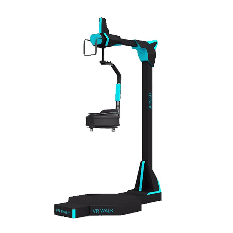 Leesche Exciting 360 standing platform 9d vr shooting equipment vr walker VR Walker/battle image11