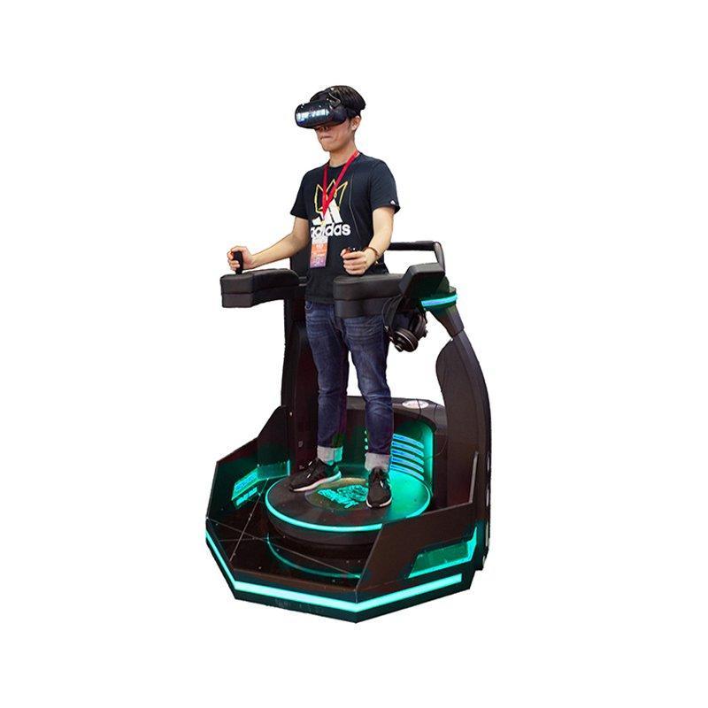 amusement park machine 9d vr standing platform vr battle