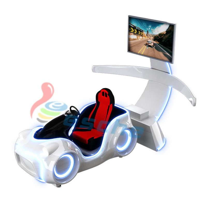 Leesche Leesche dynamic platform driving simulator 9d vr racing car VR Racing/Riding image15