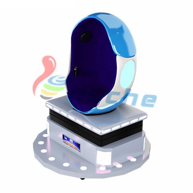 Leesche Interactive Game Simulator 360 Degree 9D Vr egg chair 9D VR Egg Chair image8