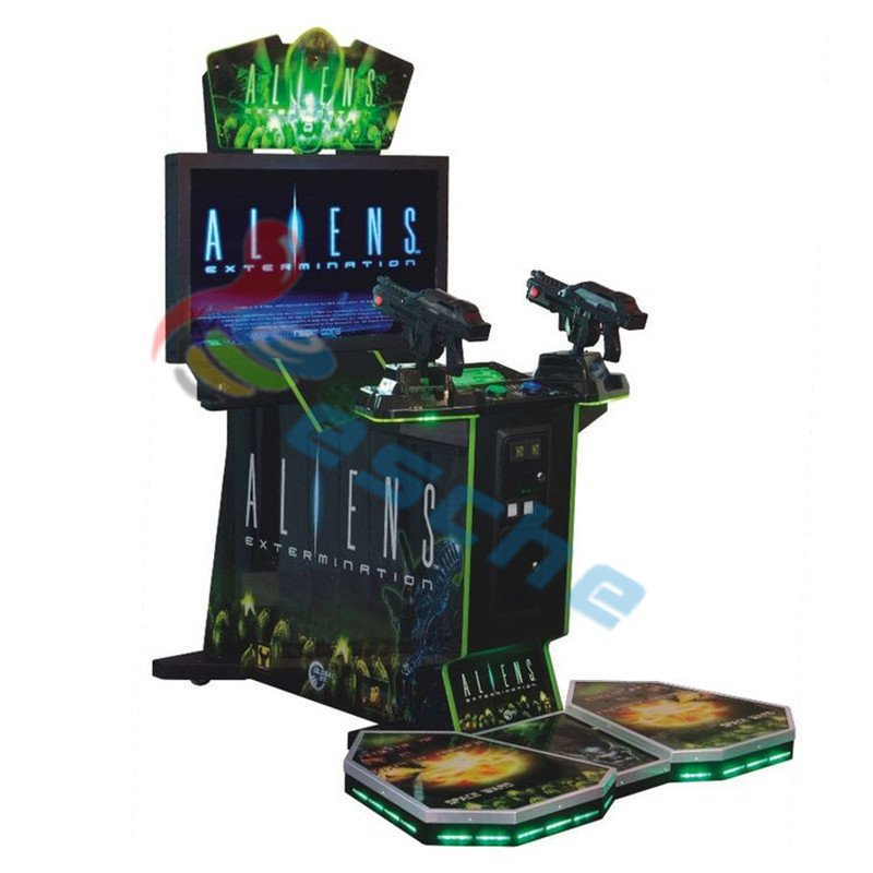 Leesche Arcade game Aliens Paradise Lost 42 inch LCD shooting simulator Arcade Game Machine image24