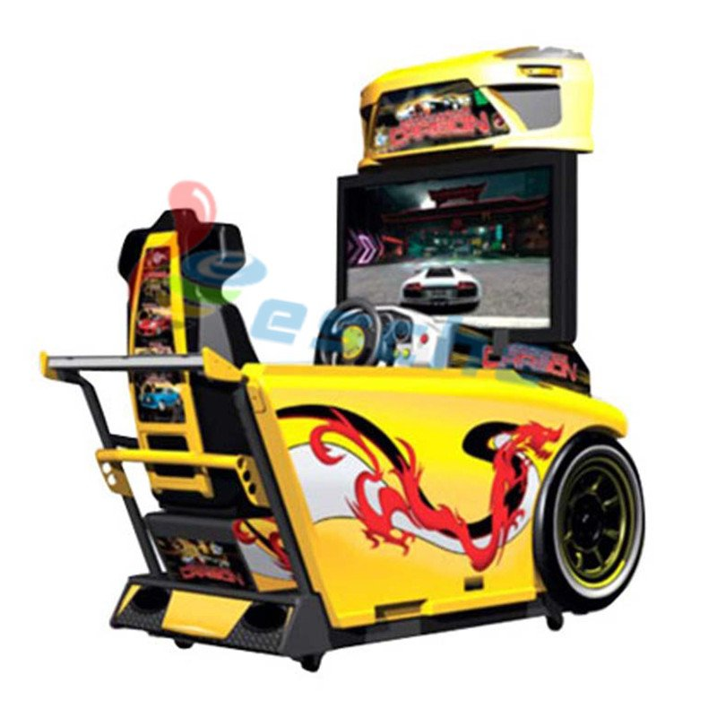 Leesche 42 inch LCD racing simulator game machine Arcade Game Machine image31