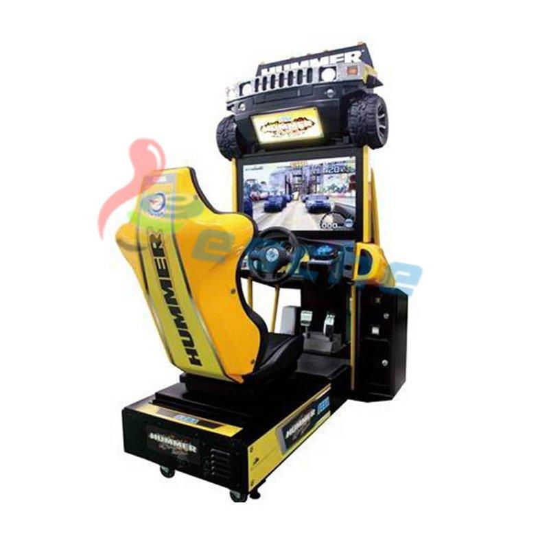 Hummer 32 inch LCD arcade racing car game machine