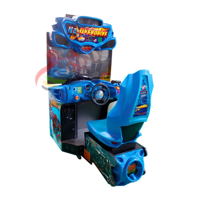 Leesche H2 over Drive 42 inch LCD car racing game machine Arcade Game Machine image28
