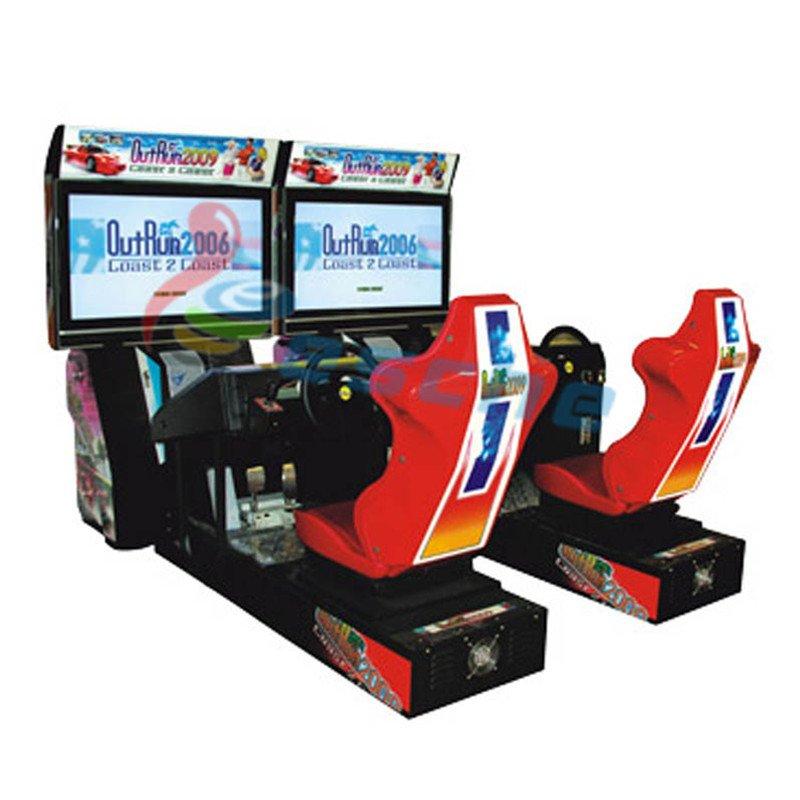 Leesche single player arcade car driving game machine Arcade Game Machine image27