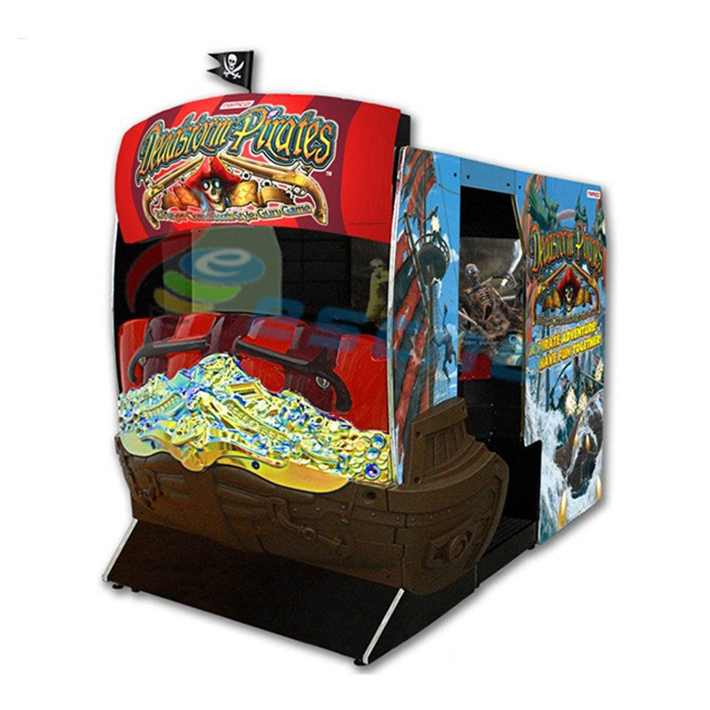 Leesche 55 inch LCD Deadstorm Pirate shooting simulator Arcade Game Machine image26