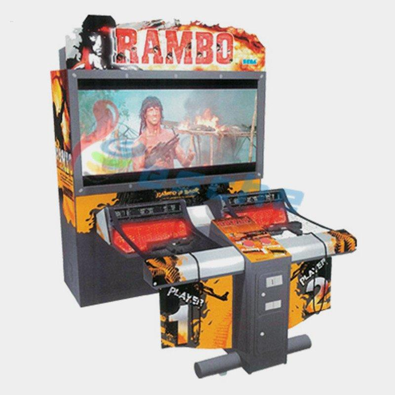 RAMBO I 55 inch LCD arcade shooting game machine