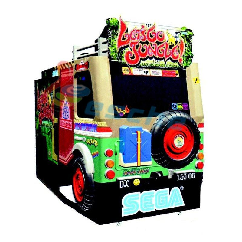 coin operated 55 LCD arcade shooting game machine
