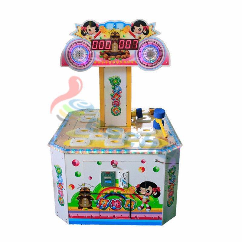 Children ticket redemption machine coin operated hitting hammer game machine