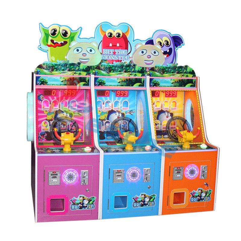 Leesche Leesche Hit The Monster Arcade coin operated shooting game machine Arcade Game Machine image8