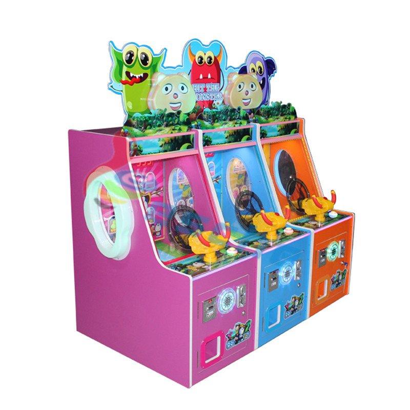 Leesche Leesche Hit The Monster Arcade coin operated shooting game machine Arcade Game Machine image11