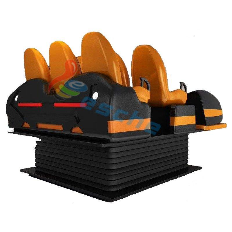 Leesche amusement park equipment 6 Dof 6 Seats 9d vr cinema VR Cinema image8