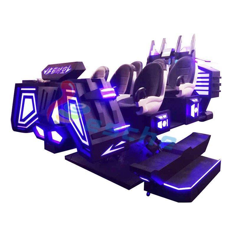 9D Motion Simulator 6 Seats 9D Vr Cinema Simulator