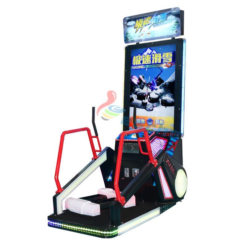 Leesche Leesche coin operated redemption machine skiing video game machine Arcade Game Machine image9