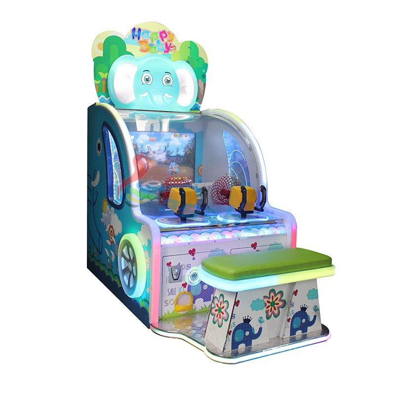 happy baby 42 inch LCD arcade ball shooting game machine