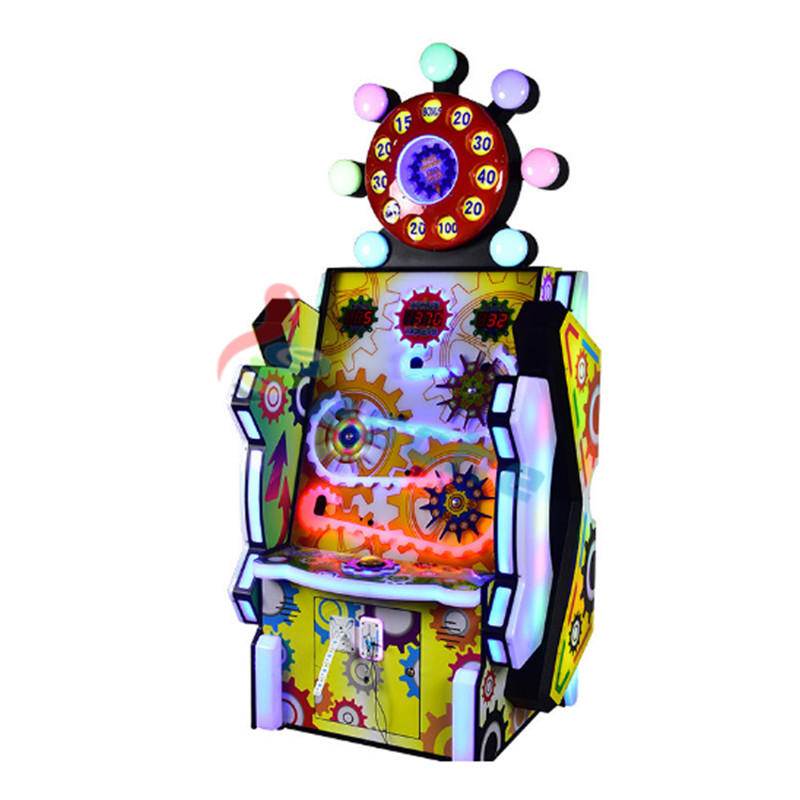 Lucky ball arcade lottery redemption game machine