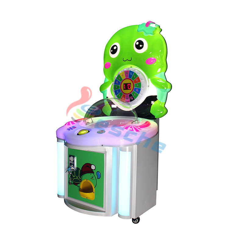 Leesche kids coin operated candy vending machine lollipop game machine Arcade Game Machine image5