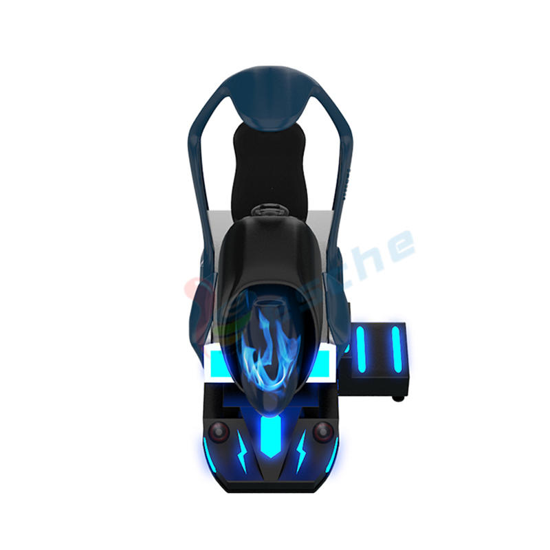 New arrival dynamic platform 9d vr racing car driving simulator