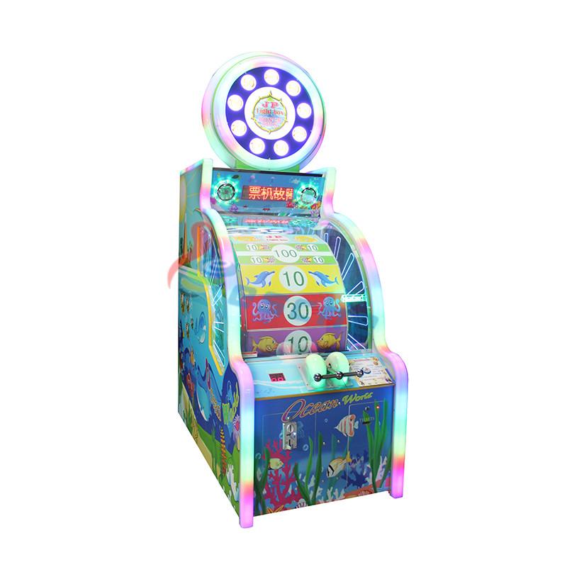 Leesche Ocean world coin operated arcade lottery redemption game machine Arcade Game Machine image2