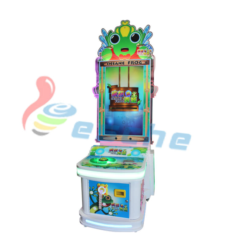 Insane Frog Arcade Game Machine Kids Redemption Machine