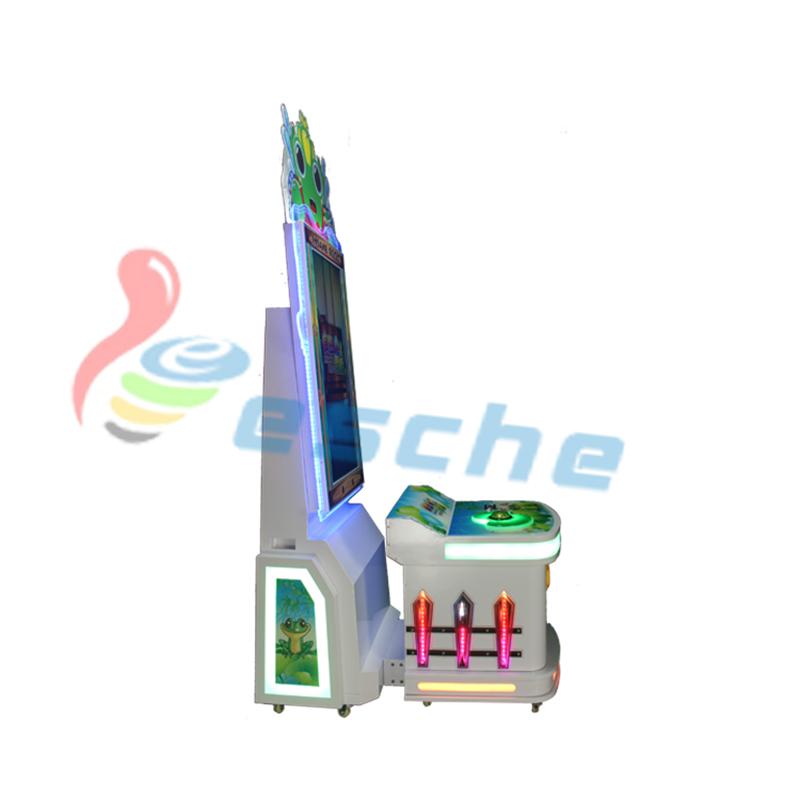 Leesche Insane Frog Arcade Game Machine Kids Redemption Machine Arcade Game Machine image1