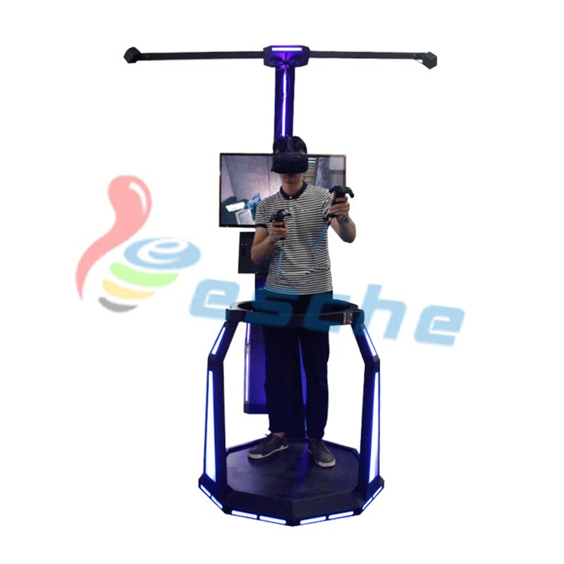 Leesche Leesche Walking platform HTC VIVE 9d vr shooting simulator VR Gun/Fighting image1
