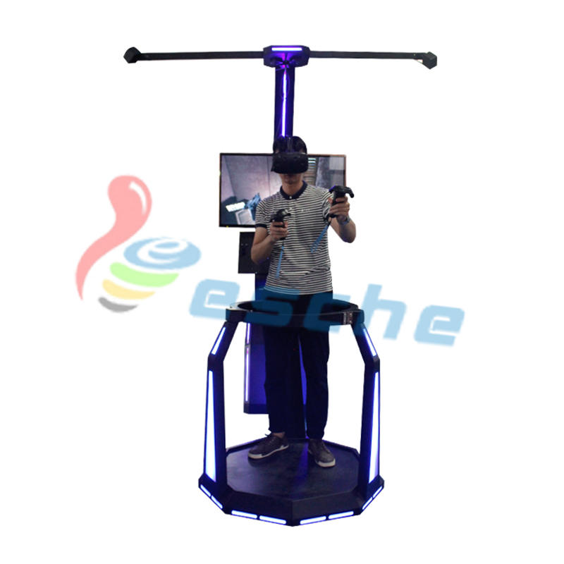 Leesche Walking platform HTC VIVE 9d vr shooting simulator